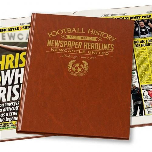 Personalised Newcastle Football Book